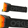 Oakley Front Line MX Goggles - Factory Pilot Blackout Prizm Torch