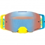 Oakley Front Line MX Goggles - High Voltage Blue Yellow Prizm