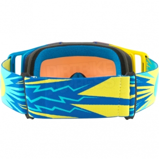 Oakley Front Line MX Goggles - High Voltage Blue Yellow Prizm Image 4