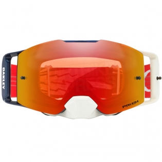 Oakley Front Line MX Goggles - High Voltage Red Navy Prizm Image 2