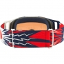Oakley Front Line MX Goggles - High Voltage Red Navy Prizm