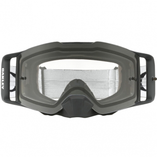 Oakley Front Line MX Goggles - Matte Black Speed Clear Image 2