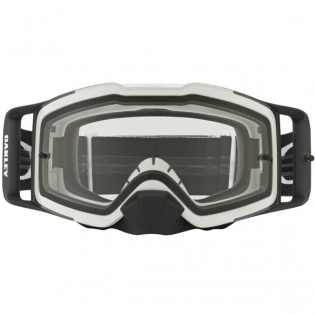 Oakley Front Line MX Goggles - Matte White Speed Clear Image 2