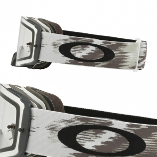 Oakley Front Line MX Goggles - Matte White Speed Clear Image 3