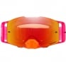 Oakley Front Line MX Goggles - Pinned Race Red Orange Prizm