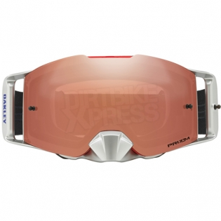Oakley Front Line MX Goggles - Shockwave Red Blue Prizm Iridium Image 2