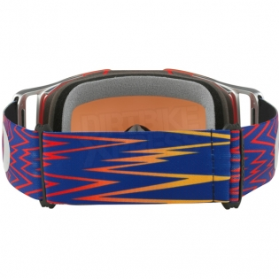Oakley Front Line MX Goggles - Shockwave Red Blue Prizm Iridium Image 4