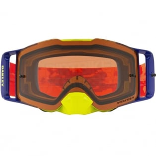 Oakley Front Line MX Goggles - Thermo Camo Orange Prizm Bronze Image 2