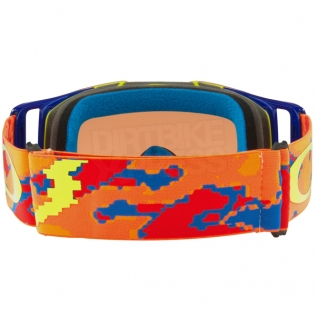Oakley Front Line MX Goggles - Thermo Camo Orange Prizm Bronze Image 4