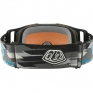 Oakley Front Line MX Goggles - Troy Lee Stealth Prizm Iridium
