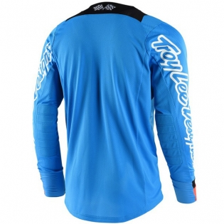 Troy Lee Designs SE Air Kit Combo - Squadra Cyan Orange Black Image 2
