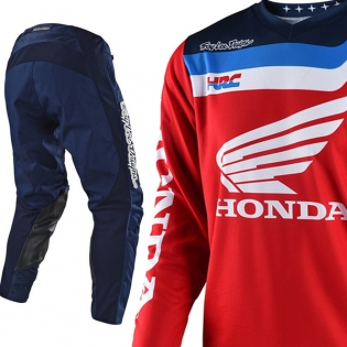 Troy Lee Designs GP Air Kit Combo - Prisma Honda Navy Image 3