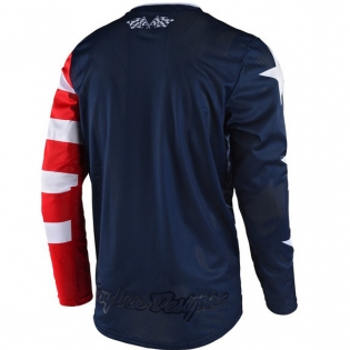 Troy Lee Designs GP Air Kit Combo - Americana Red Image 2