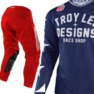 Troy Lee Designs GP Air Kit Combo - Americana Red Image 3