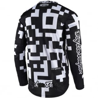 Troy Lee Designs GP Air Kit Combo - Maze Black White Black Image 2