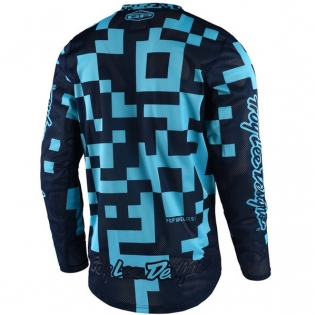 Troy Lee Designs GP Air Kit Combo - Maze Turquoise Navy Navy Image 2