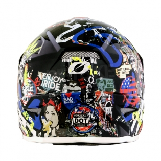 2018 ONeal 3 Series Motocross Helmet - Rancid Multi Image 4