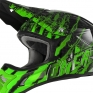 2018 ONeal 3 Series Motocross Helmet - Mercury Black Green