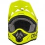 2018 ONeal 3 Series Motocross Helmet - Flat Neon Yellow