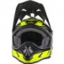2018 ONeal 3 Series Motocross Helmet - Fuel Black Neon Yellow