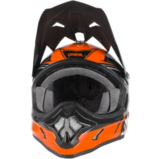2018 ONeal 3 Series Motocross Helmet - Fuel Black Orange Image 4