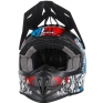 2018 ONeal 5 Series Vandal Motocross Helmet - Blue Red White