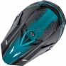 2018 ONeal 5 Series Blocker Motocross Helmet - Black Teal