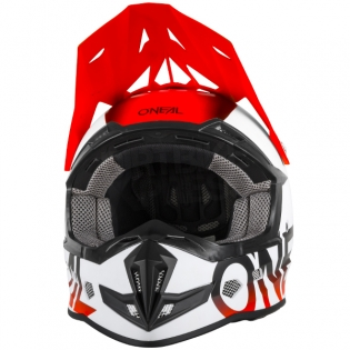 2018 ONeal 5 Series Blocker Motocross Helmet - Black Orange Image 4