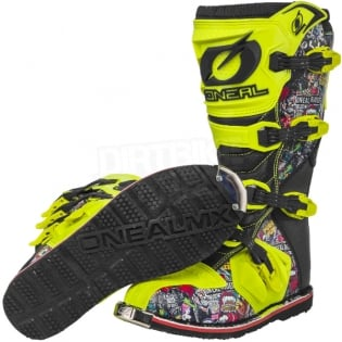 2018 ONeal Rider Boots - Crank Multi Image 2