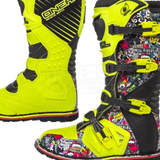 2018 ONeal Rider Boots - Crank Multi Image 3