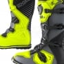2018 ONeal Rider Boots - Grey Neon Yellow
