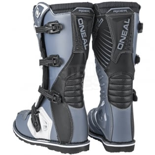 2018 ONeal Rider Boots - Black Grey Image 4