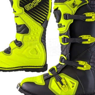2018 ONeal Rider Boots - Neon Yellow Image 3