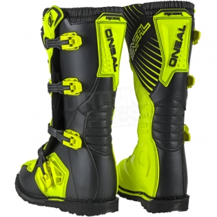 2018 ONeal Rider Boots - Neon Yellow Image 4
