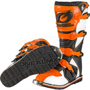 2018 ONeal Rider Boots - Orange Image 2