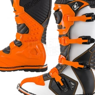 2018 ONeal Rider Boots - Orange Image 3