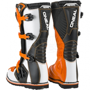 2018 ONeal Rider Boots - Orange Image 4