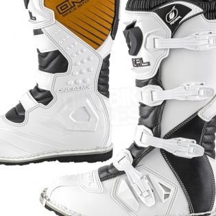 2018 ONeal Rider Boots - White Image 3