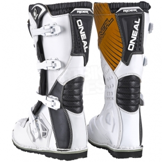 2018 ONeal Rider Boots - White Image 4