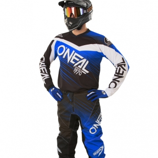 2018 ONeal Element Racewear Kit Combo - Black Blue Image 2