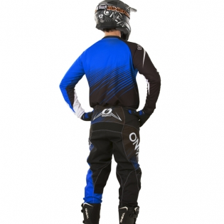 2018 ONeal Element Racewear Kit Combo - Black Blue Image 4