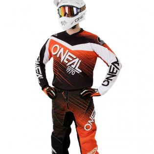 2018 ONeal Element Racewear Kit Combo - Black Orange Image 2