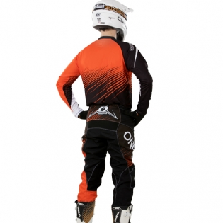 2018 ONeal Element Racewear Kit Combo - Black Orange Image 4