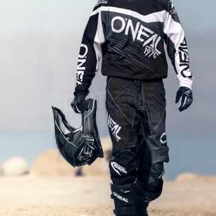 2018 ONeal Element Racewear Kit Combo - Black Grey Image 3