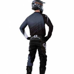 2018 ONeal Element Racewear Kit Combo - Black Grey Image 4