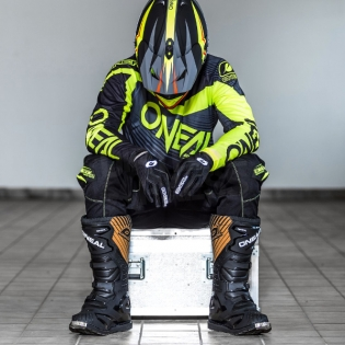 2018 ONeal Element Racewear Kit Combo - Black Neon Yellow Image 3