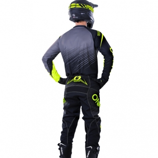 2018 ONeal Element Racewear Kit Combo - Black Neon Yellow Image 4