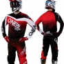 2018 ONeal Element Racewear Kit Combo - Black Red