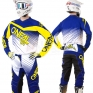 2018 ONeal Element Racewear Kit Combo - Blue Yellow