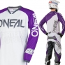 2018 ONeal Mayhem Lite Kit Combo - Blocker Purple White